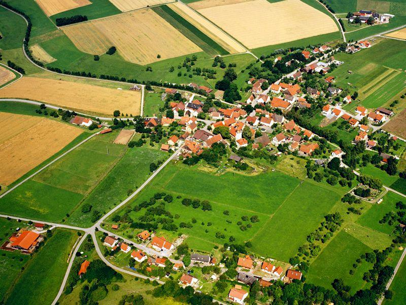 Luftbild Lorenzenzimmern